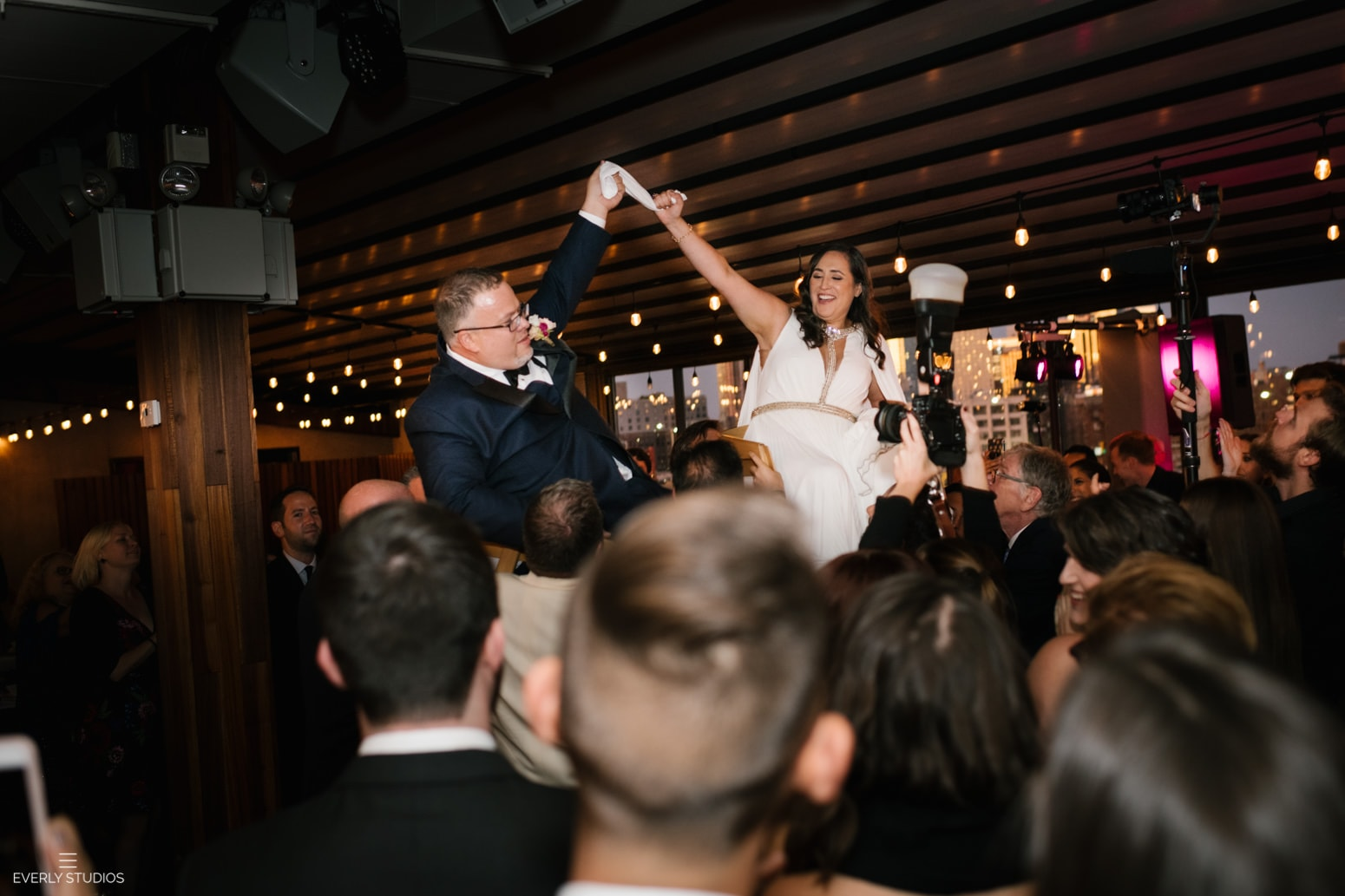 Box House Hotel Brooklyn wedding. Photo by NYC wedding photographer Everly Studios