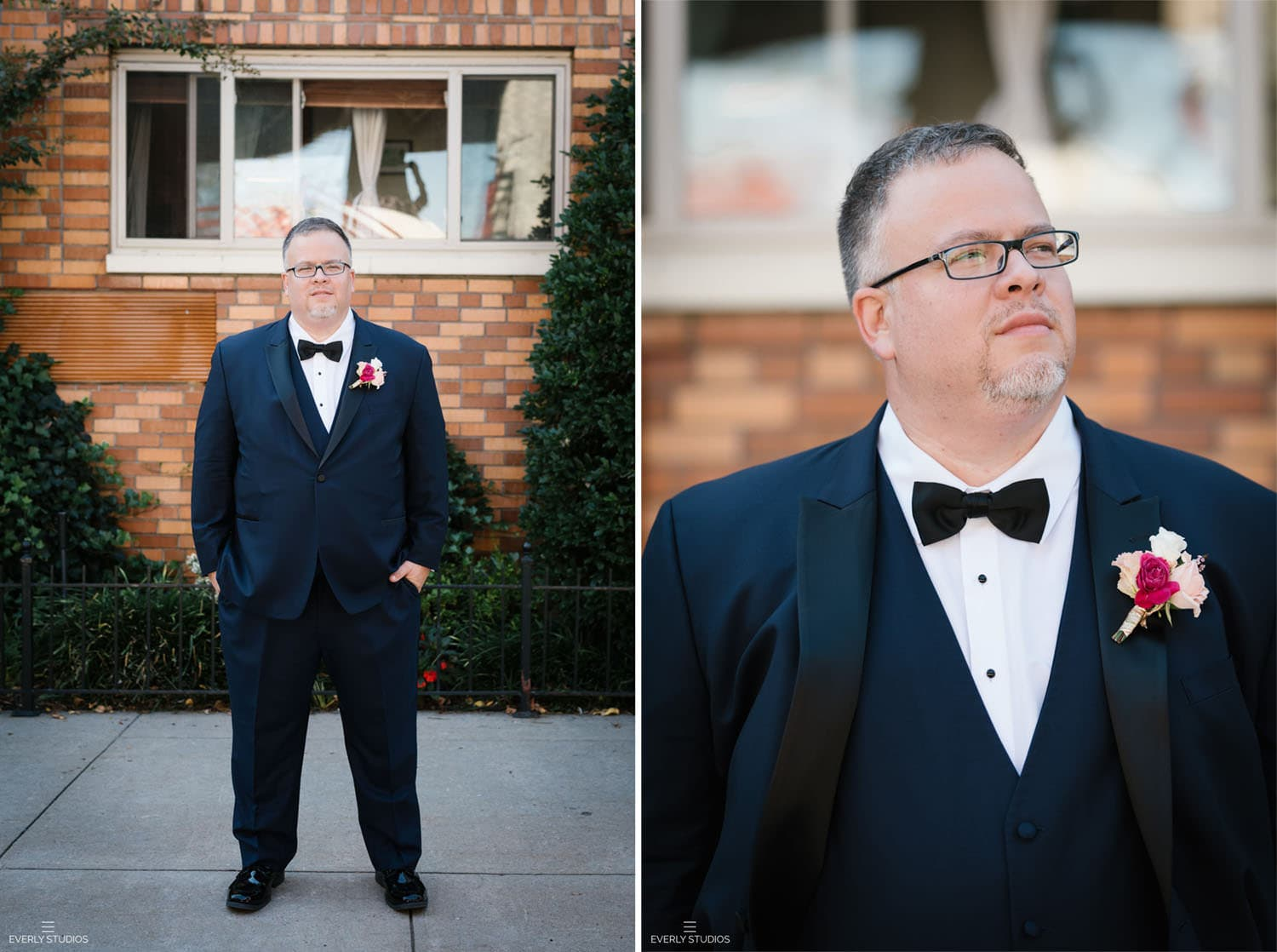 Box House Hotel wedding. Photo by NYC wedding photographer Everly Studios