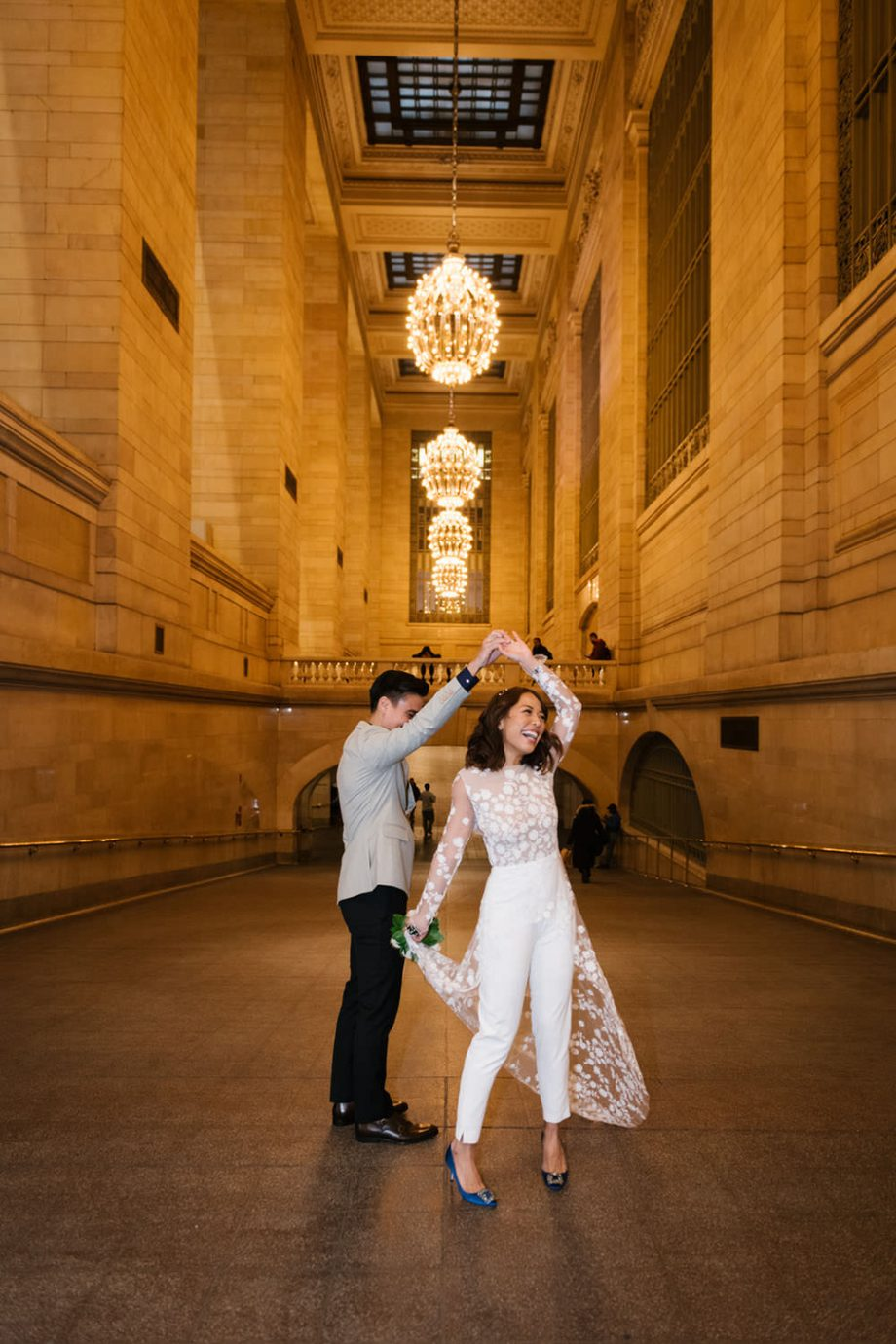Grand Central wedding in NYC