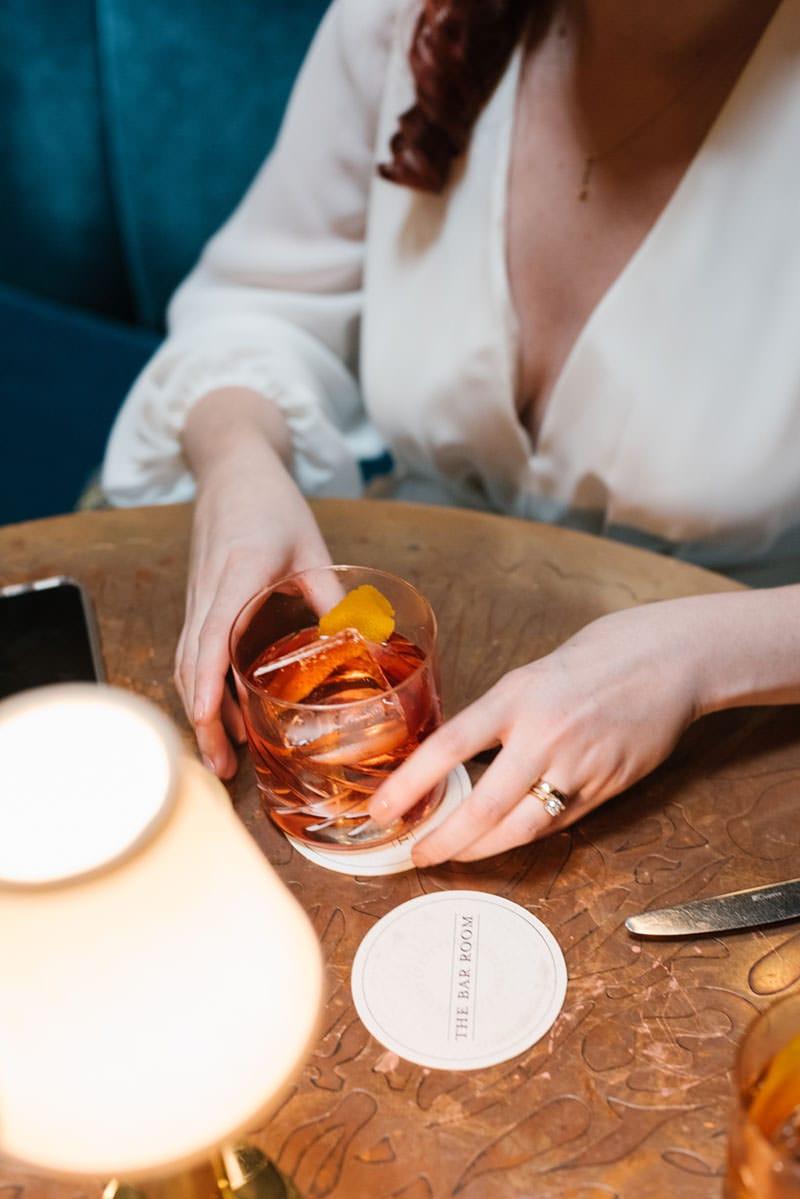 NYC cocktail bar wedding