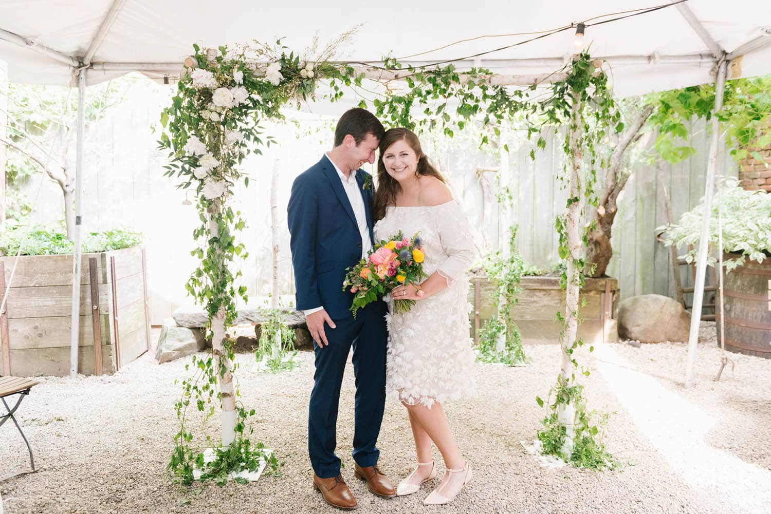 how to plan a small wedding in NYC