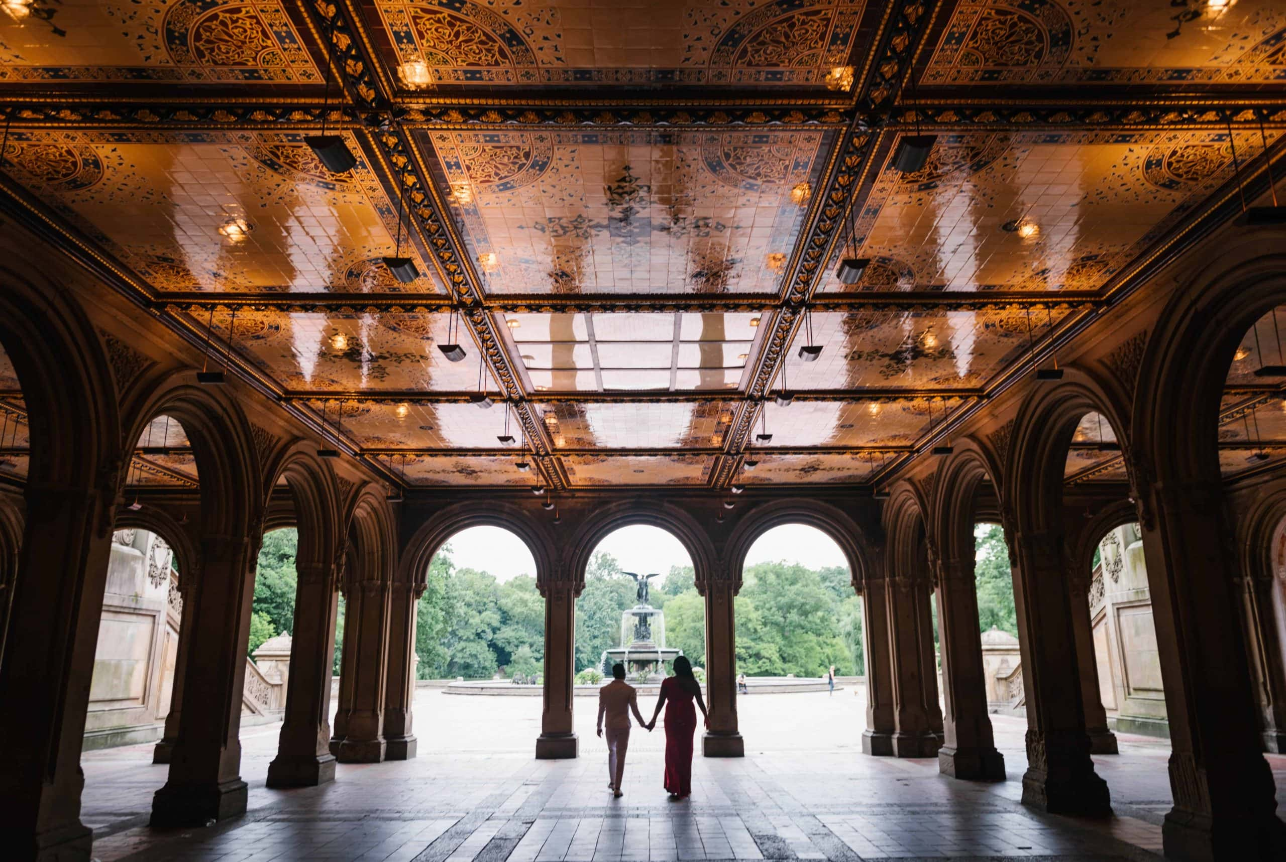 Bethesda Terrace: best places to propose in New York