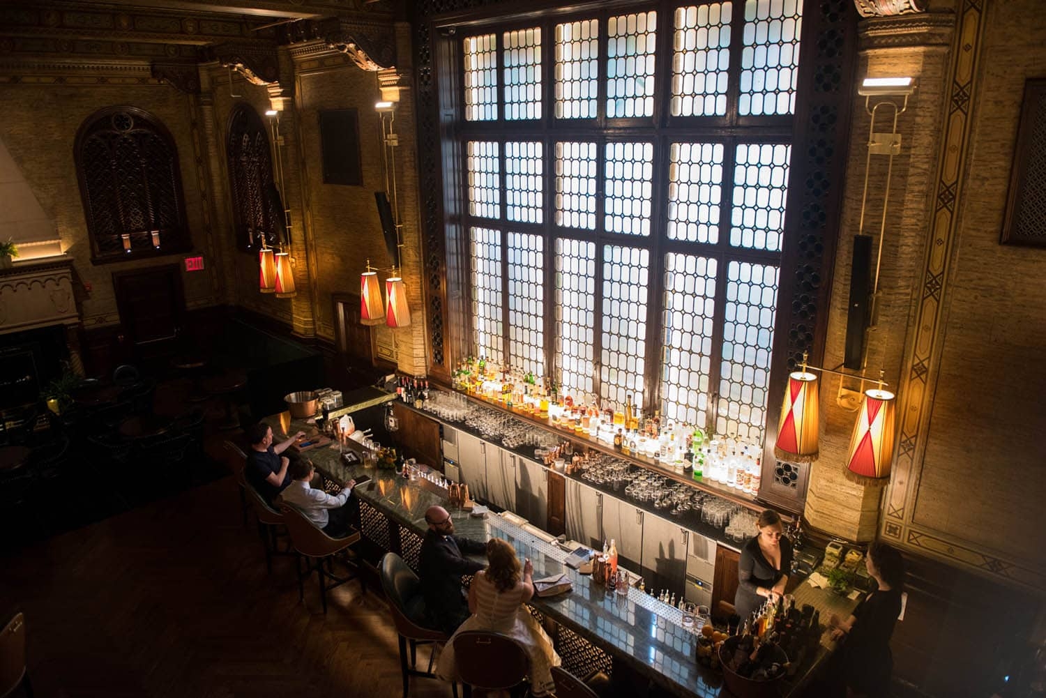 Campbell Bar: Best Proposal Locations in NYC In Winter