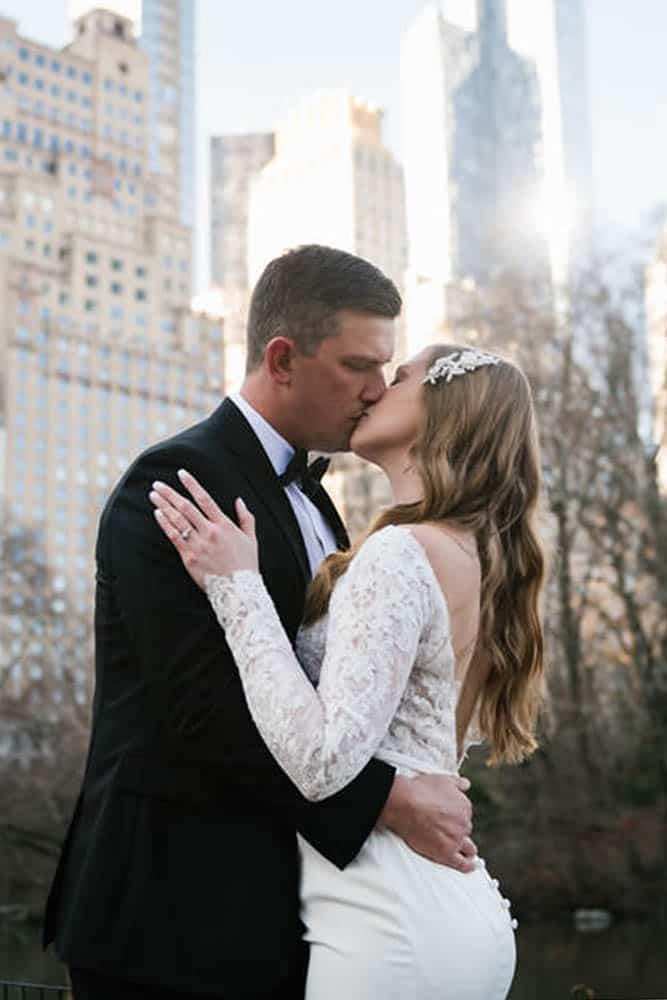 NYC elopement at Gapstow Bridge in Central Park