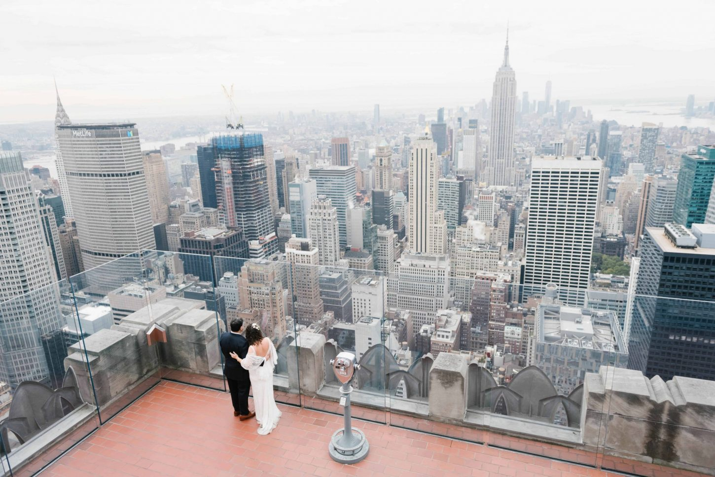 Top of the Rock: Best places to propose in NYC