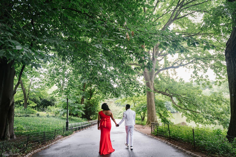 Bethesda Fountain wedding in Central Park