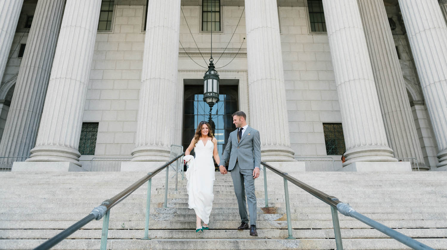 Eloping to NYC from UK at New York City Hall