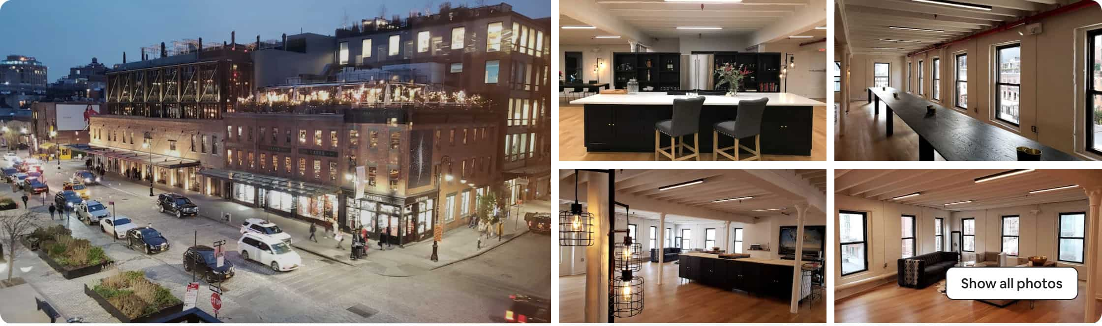 Meatpacking district loft space nyc