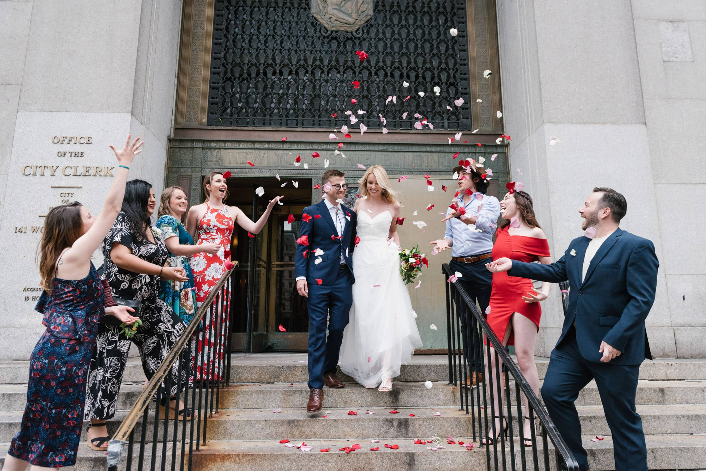 NYC Elopement Packages: NYC City Hall wedding