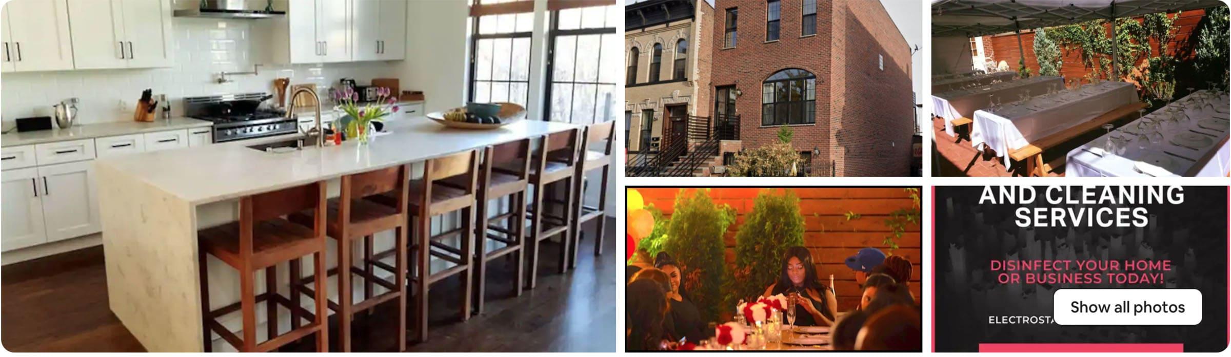 best airbnb wedding venue in Brooklyn