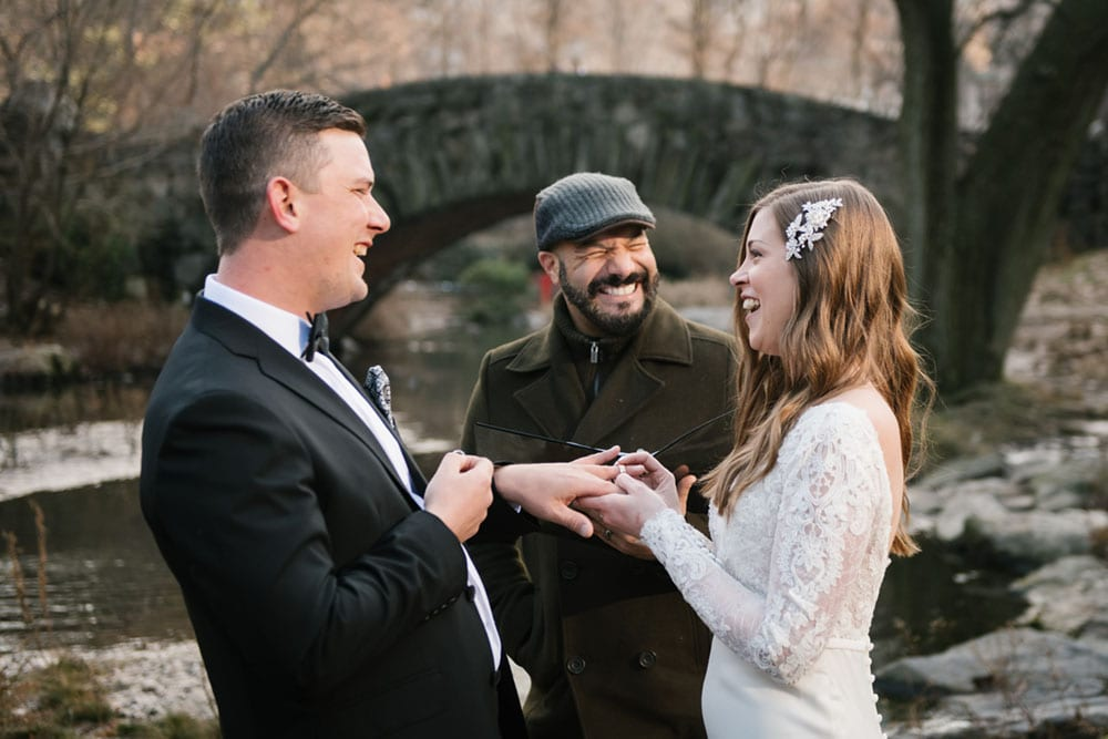 wedding officiant in NYC