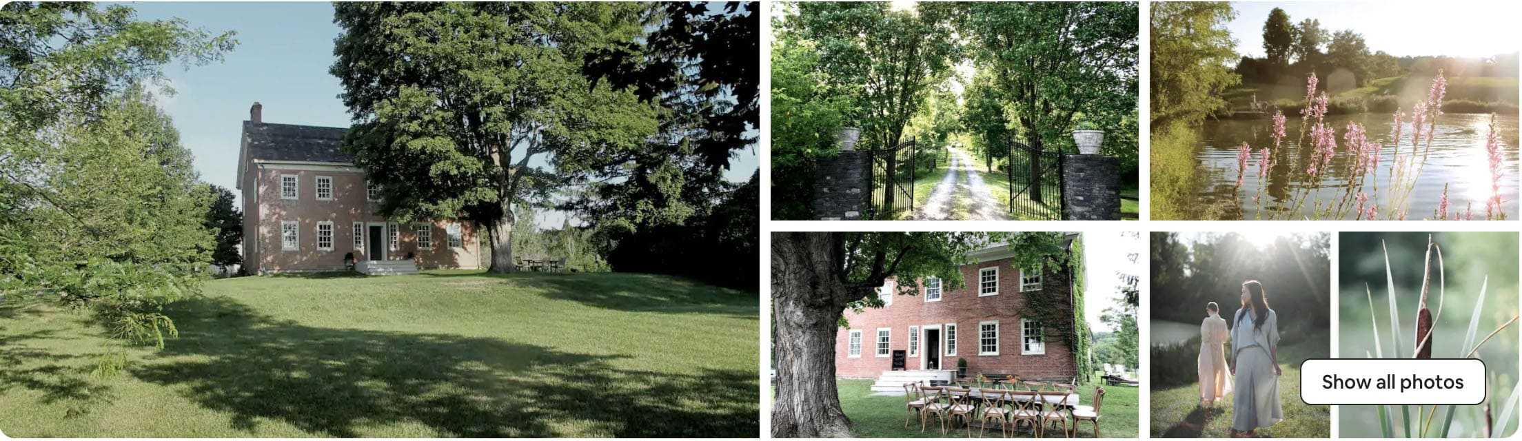 Windrift Hall - best airbnb wedding venue in New York