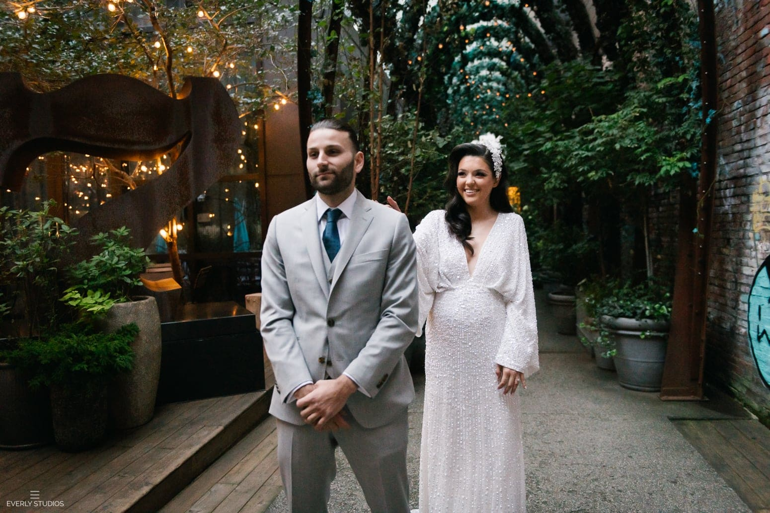 Nomo Soho wedding getting ready photos