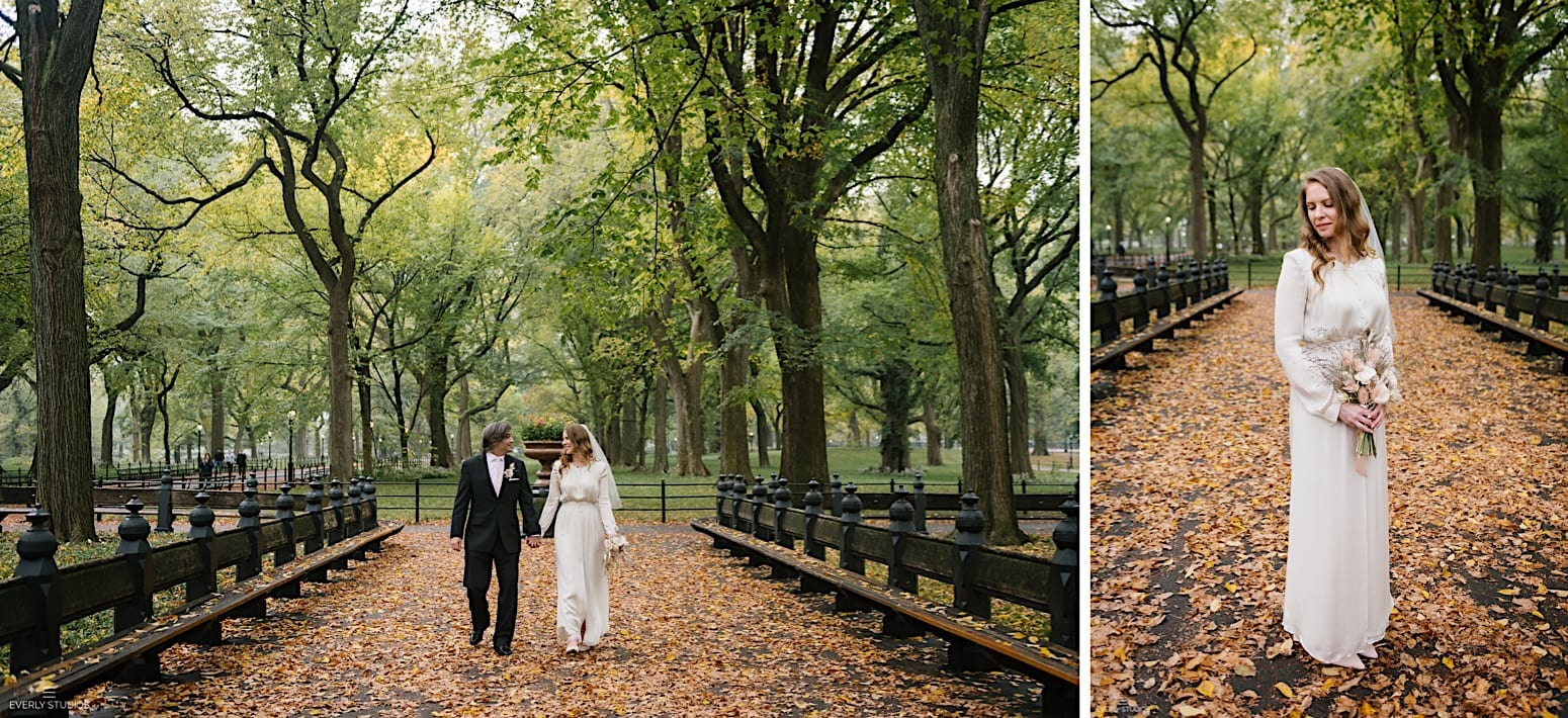 Bethesda Fountain elopement in Central Park NYC
