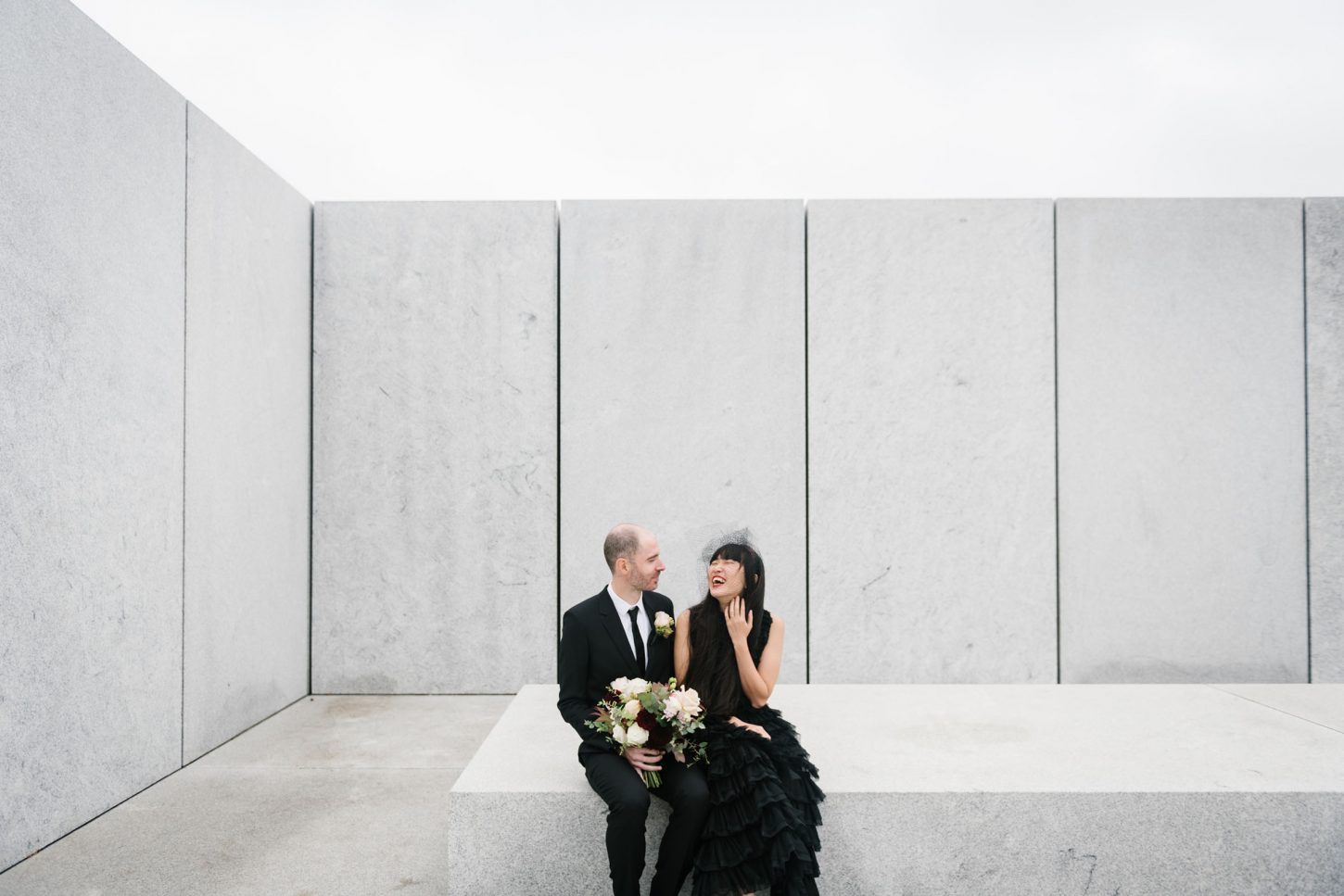 Four Freedoms Park wedding in Roosevelt Island NYC