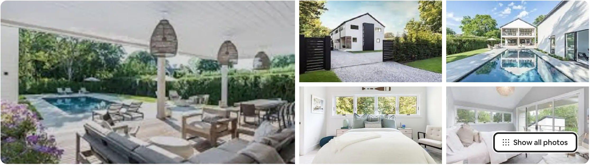 modern bridgehampton airbnb