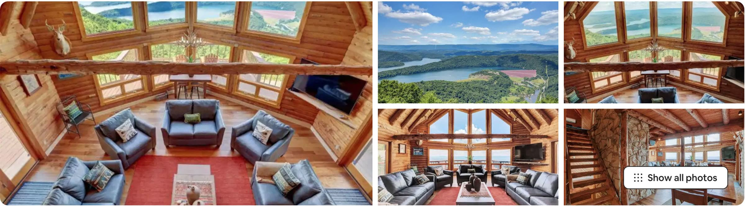 crown jewel vista lodge airbnb for wedding PA