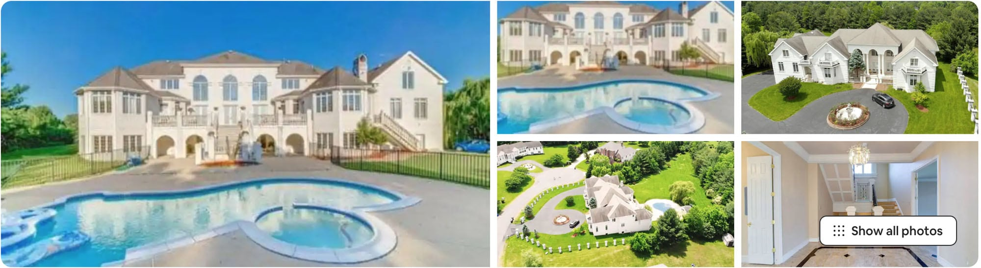 Virginia Airbnb mansion