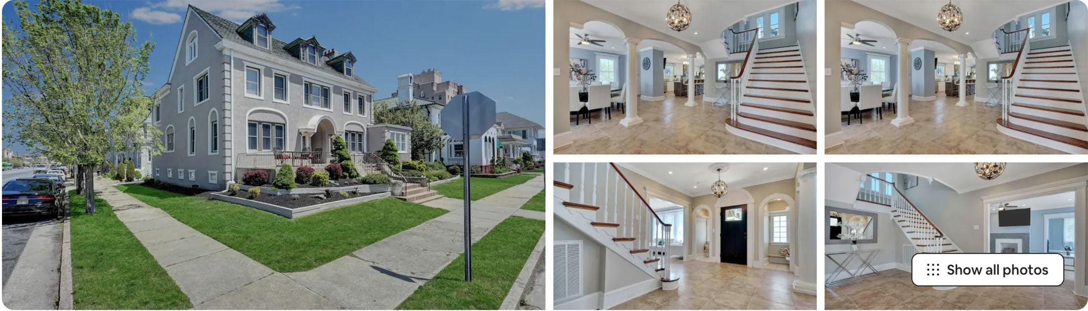 Atlantic City Airbnb mansion