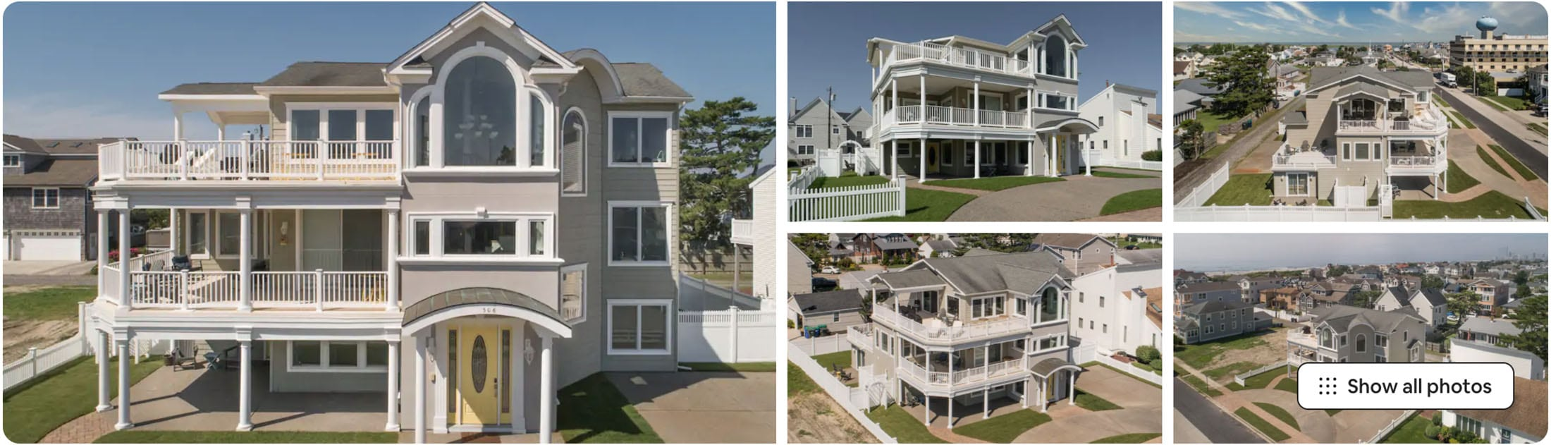 beachside house in new jersey
