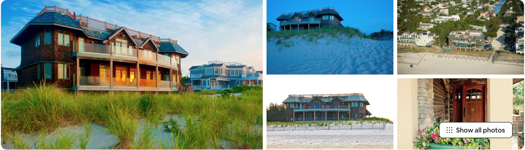 Long Beach Township Airbnb wedding venue