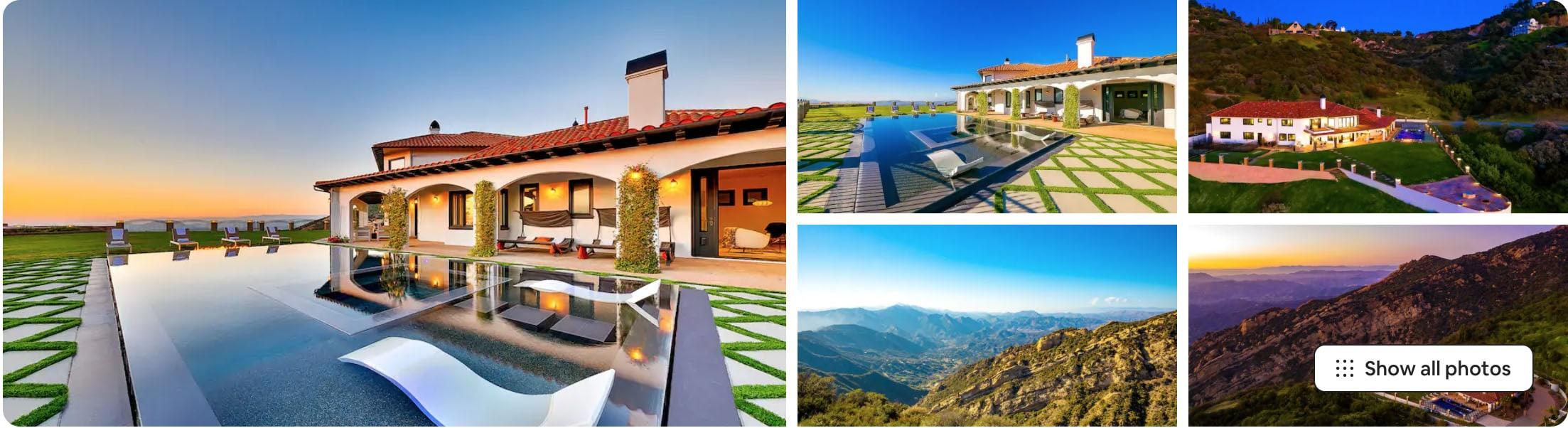 malibu garden estate - modern beach airbnb wedding venues in southern california