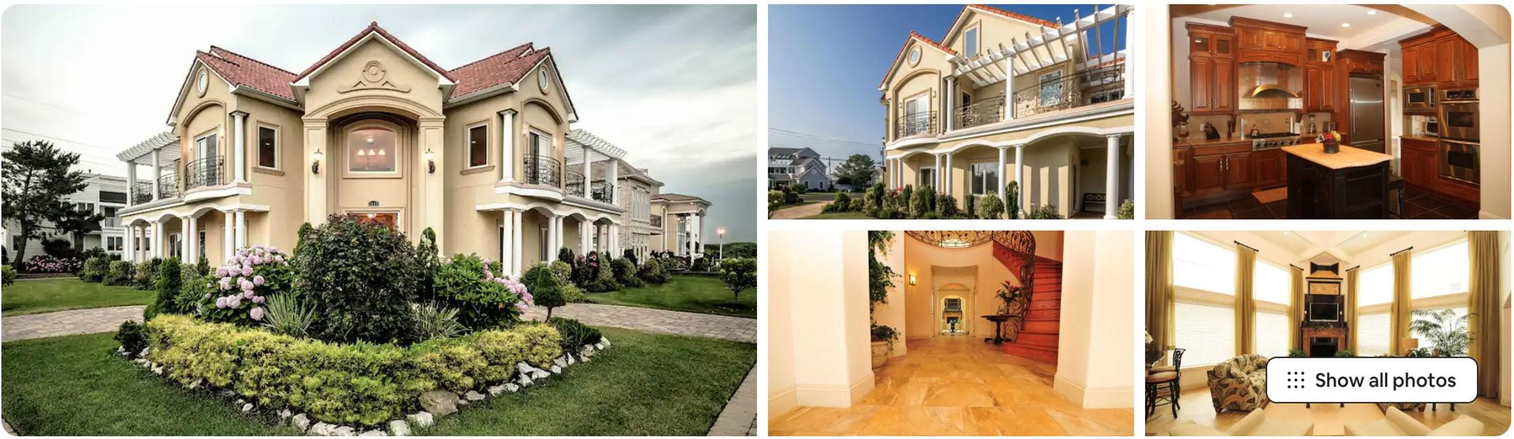 Mediterranean Mansion in NJ