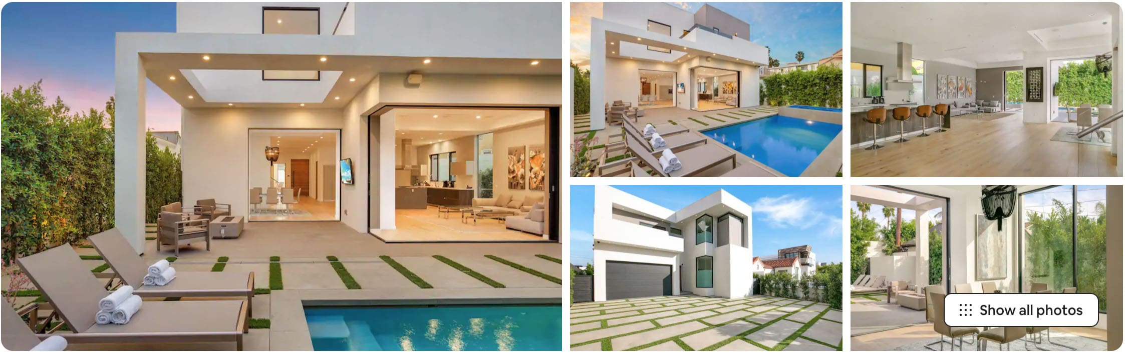 modern melrose mansion
