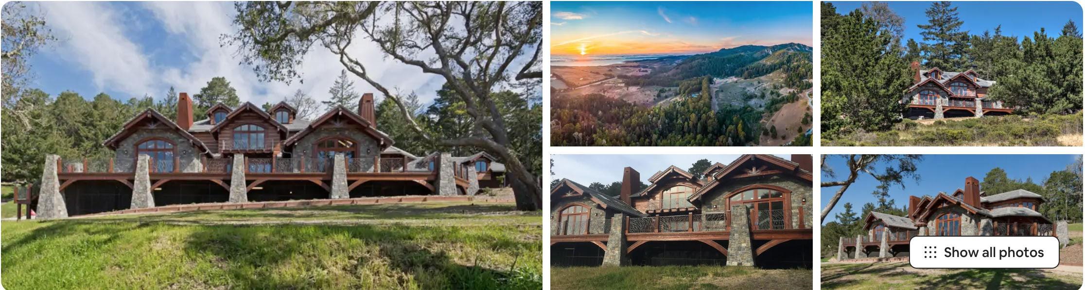 Pacific Ocean Mountain Estate