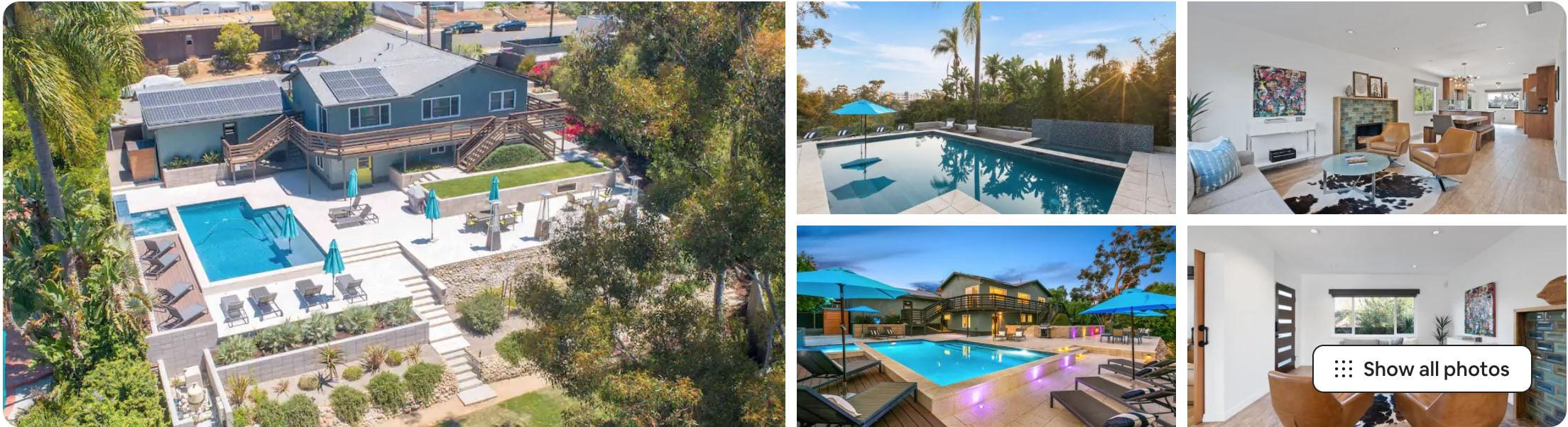 san diego resort airbnb - airbnb wedding venues in SoCal